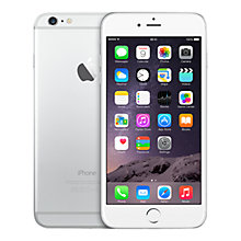 "Buy Apple iPhone 6 Plus, iOS, 5.5"", 4G LTE, SIM Free, 128GB Online at johnlewis.com"