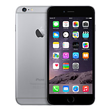 "Buy Apple iPhone 6 Plus, iOS, 5.5"", 4G LTE, SIM Free, 64GB Online at johnlewis.com"