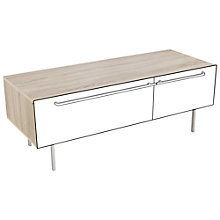 "Buy John Lewis Scandi TV Stand For TVs Up to 60"", White Oak Online at johnlewis.com"