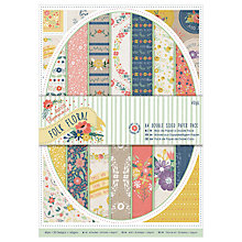 Buy Docrafts Double Sided Paper Pack, A4, Multi Online at johnlewis.com