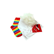 Buy Sock Creatures Christmas Monkey Sock Kit, Red/White Online at johnlewis.com