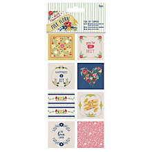 Buy Docrafts Tear Off Toppers, Multi, 16pcs Online at johnlewis.com