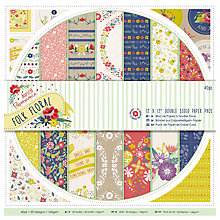 "Buy Docrafts Double Sided Paper Pack, Multi, 12 x 12"" Online at johnlewis.com"