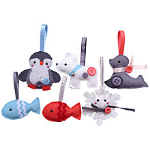 Buy Paper and String Winter Animal Kit Online at johnlewis.com