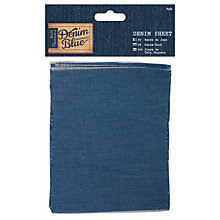 Buy Docrafts Denim Sheets, Blue, 12 x 15cm, 6pcs Online at johnlewis.com