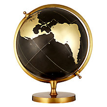 Buy John Lewis Boutique Hotel Globe, Black/Gold Online at johnlewis.com