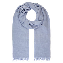 Buy Jigsaw Plain Wool Mix Scarf Online at johnlewis.com