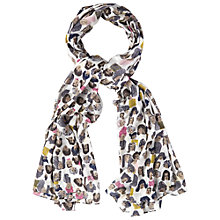 Buy White Stuff Faces Scarf, Multi Online at johnlewis.com