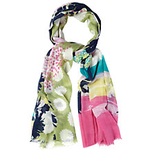Buy White Stuff Grand Hotel Patch Scarf, Multi Online at johnlewis.com