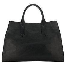 Buy Jigsaw Sofia Tote Bag, Black Online at johnlewis.com