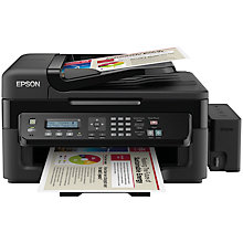 Buy Epson Ecotank L555 Four-In-One Wi-Fi Printer with High Capacity Integrated Ink Tank System & 2 Years Ink Supply Included Online at johnlewis.com