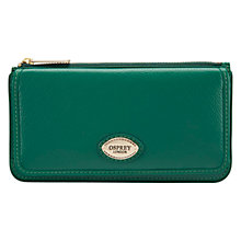 Buy OSPREY LONDON Hendry Leather Foldover Purse Online at johnlewis.com