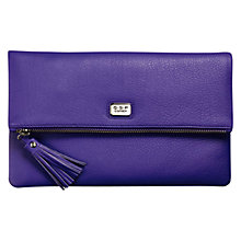 Buy O.S.P Osprey London Clutch Bag, Violet Online at johnlewis.com