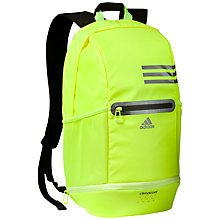 Buy Adidas Climacool Backpack, Yellow Online at johnlewis.com