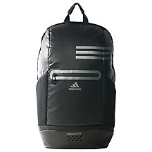 Buy Adidas Climacool Medium Backpack, Black Online at johnlewis.com