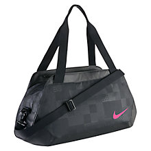 Buy Nike Club Legend Duffel Bag, Black Online at johnlewis.com