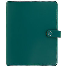 Buy Filofax 'The Original' Personal Organiser, Dark Aqua Online at johnlewis.com