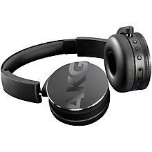 Buy AKG Y50BT Bluetooth On-Ear Headphones With Mic/Remote Online at johnlewis.com