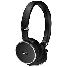 Buy AKG N60 NC Noise Cancelling On-Ear Headphones with In-line Remote/ Mic Online at johnlewis.com