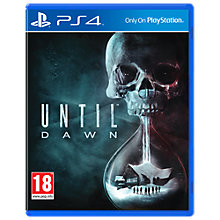 Buy Until Dawn, PS4 Online at johnlewis.com