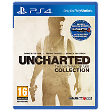 Buy Uncharted: The Nathan Drake Collection, PS4 Online at johnlewis.com