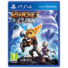 Buy Ratchet & Clank, PS4 Online at johnlewis.com
