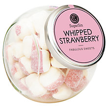 Buy Sugarsin, Whipped Strawberry Sweets, 250g Online at johnlewis.com