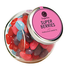 Buy Sugarsin Berry Jelly Beans Mini Jar Online at johnlewis.com