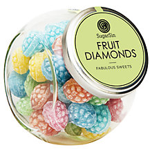 Buy Sugarsin Fruity Diamond Boiled Sweets, 270g Online at johnlewis.com