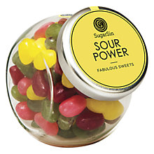 Buy Sugarsin, Sour Jelly Beans Mini Jar, 100g Online at johnlewis.com