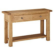 Buy John Lewis Pendleton Trunk Console Table, Oak Online at johnlewis.com