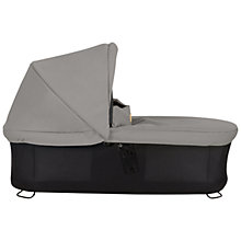 Buy Mountain Buggy Urban Jungle Duet Carrycot Plus, Silver Online at johnlewis.com