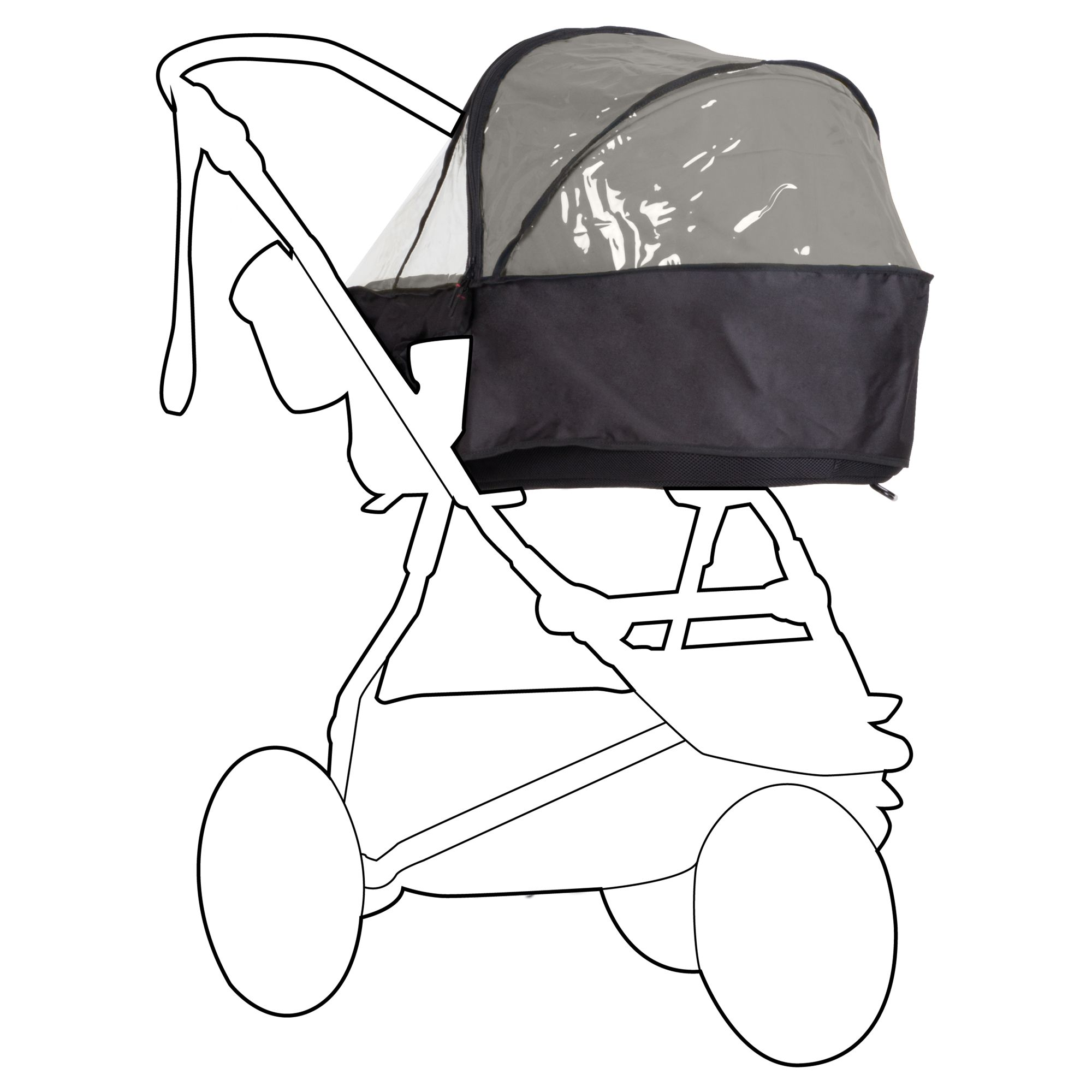 Mountain Buggy Mountain Buggy Urban Jungle Carrycot Storm Cover