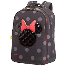 Buy Samsonite Disney Minnie Iconic Backpack, Black Online at johnlewis.com