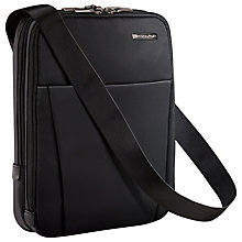 Buy Briggs & Riley Sympatico Crossbody Flight Bag, Black Online at johnlewis.com