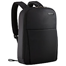 "Buy Briggs & Riley Sympatico 15.6"" Laptop Travel Backpack, Black Online at johnlewis.com"
