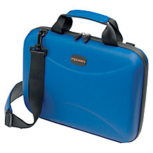 "Buy Fedon1919 Techbag 13"" Laptop Hard Briefcase, Blue Online at johnlewis.com"