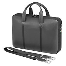 Buy Fedon1919 Web-File 1 Leather Briefcase, Grey Online at johnlewis.com
