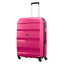 Buy American Tourister Bon Air 4-Wheel 75cm Large Suitcase Online at johnlewis.com
