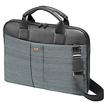 Buy Fedon1919 Jazz-File-Doc Leather Briefcase, Grey Online at johnlewis.com