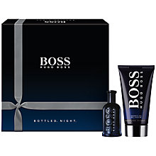 Buy Boss Bottled Night Men's Gift Set Online at johnlewis.com
