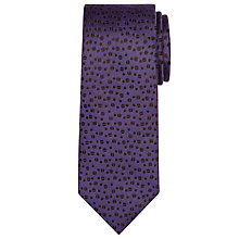 Buy Richard James Mayfair Coffee Bean Tie, Navy Online at johnlewis.com