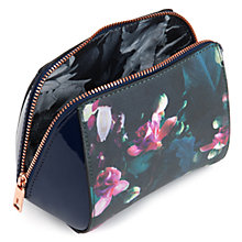 Buy Ted Baker Aslyn Make-Up Bag,  Dark Blue Online at johnlewis.com