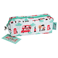 Buy Little Red Bus Pencil Case Online at johnlewis.com