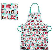 Buy Little Red Bus Apron Online at johnlewis.com
