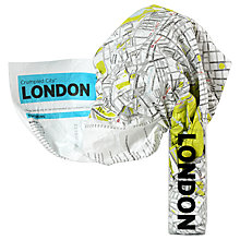 Buy Palomar London Crumpled Map Online at johnlewis.com