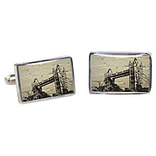 Buy TYLER & TYLER Tower Bridge Cufflinks Online at johnlewis.com