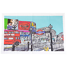 Buy Emmeline Simpson Piccadilly Circus Tea Towel Online at johnlewis.com