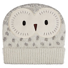 Buy Aroma Home Fluffy Owl Hat Online at johnlewis.com