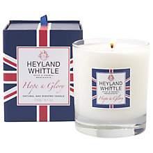 Buy Heyland & Whittle Hope and Glory Wild Lemongrass Scented Candle Online at johnlewis.com